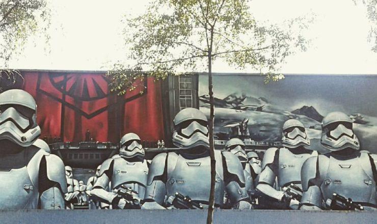 Arte urbano de Star Wars 'invade' la Ciudad de México